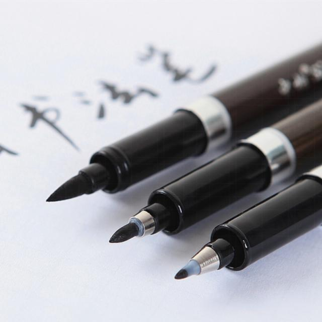 brush calligraphy pen|brush pen3 pcs/lot